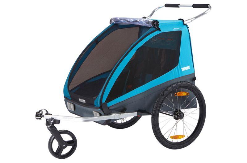 Bērnu rati Thule Coaster XT bike trailer+Stroll
