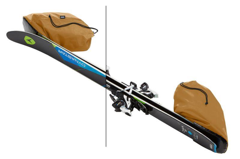 Transportēšanas somas Thule RoundTrip Ski Bag 192cm - Black