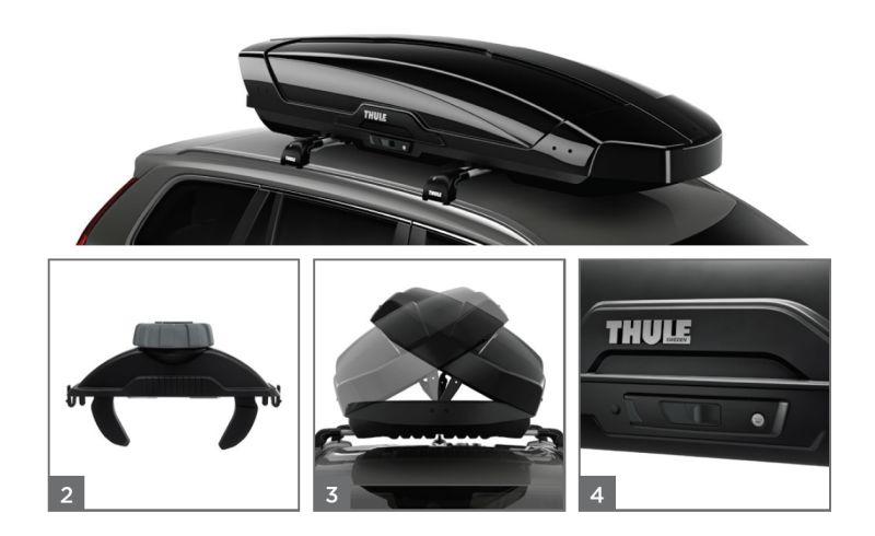 Jumta kaste Thule Motion XT XL Titāna