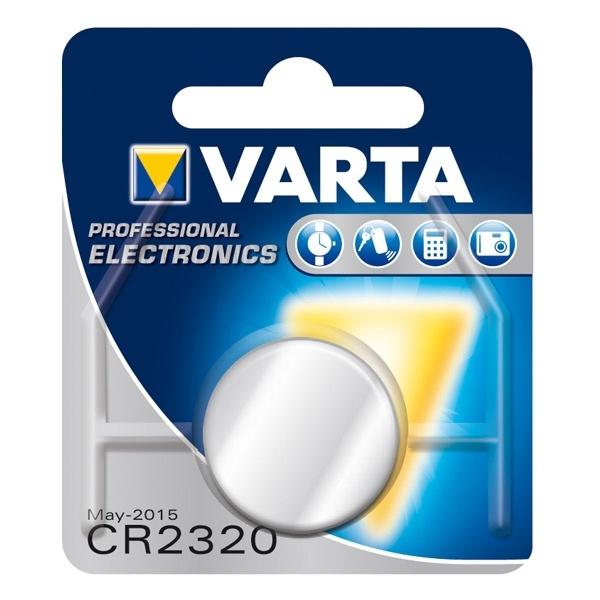 Baterijas CR 2320 liitium