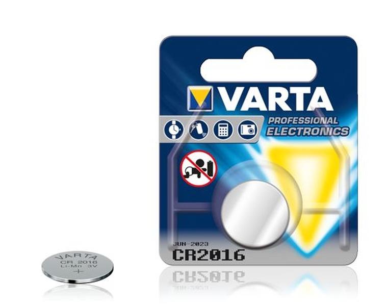 Baterijas VARTA CR2016 3V 20x1,6mm