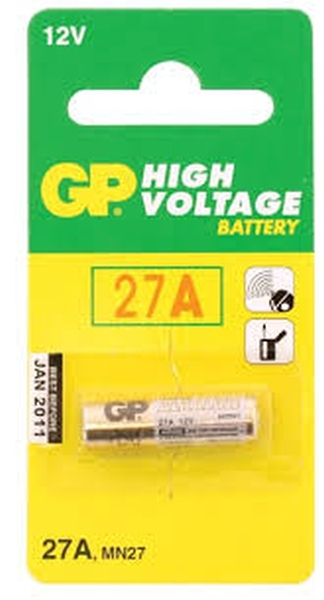 Baterijas GP baterija 12V 8,00x28,2 mm