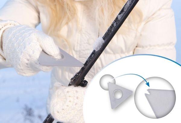 Sniega birstes Kungs slota Max-junior, 38cm