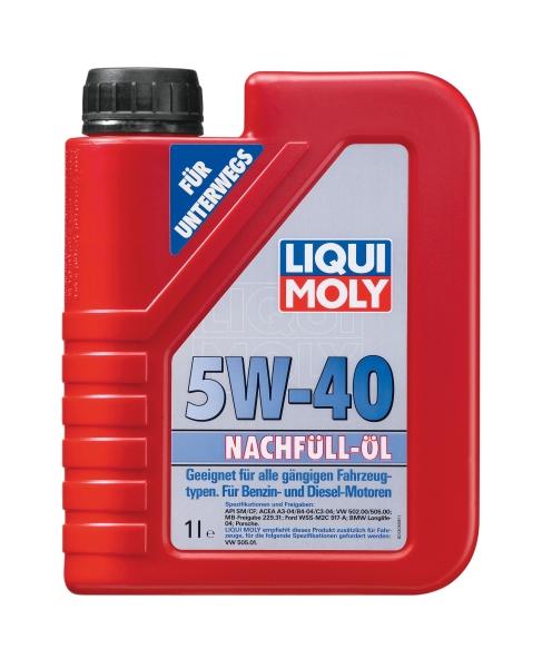Motora eļļa 5W-40 universālā 1L