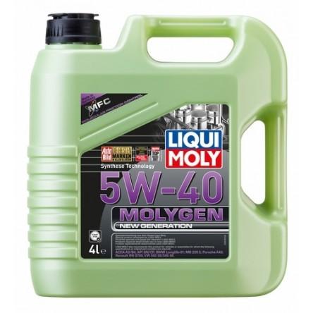 Motora eļļa 5W-40 MOLYGEN NG 4L