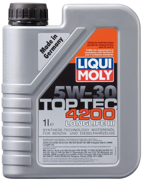 Motora eļļa 5W-30 Top Tec 4200 1L