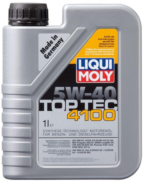 Motora eļļa 5W-40 Top Tec 4100 1L
