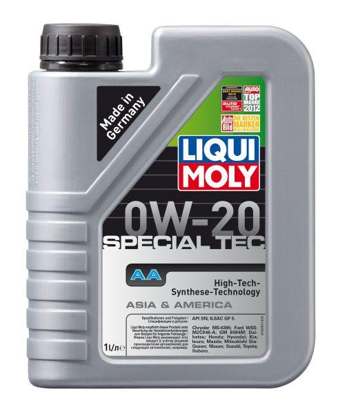 Motora eļļa 0W-20 Special Tec AA 1L