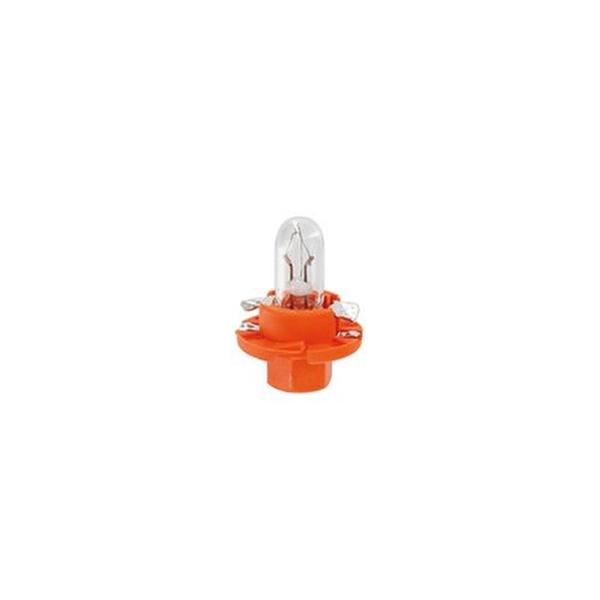 BAX spuldze 12V 1,1W BX8,4d Orange