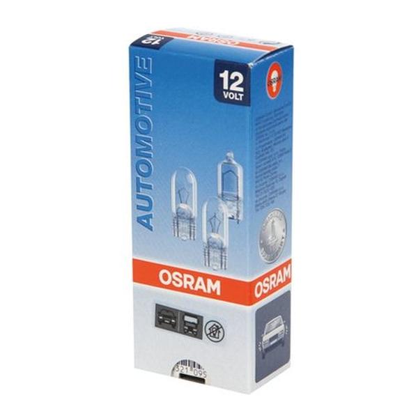 Bezcokola spuldze 12V Osram W5W Original 1 gab.