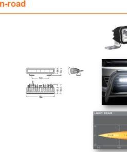 OSRAM LED LIGHTBAR SX180-SP, 14W, Ref.10, 182mm