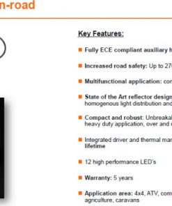 OSRAM LED LIGHTBAR SX300-SP, 29W, Ref. 20, 355mm