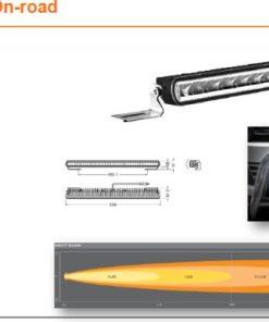 OSRAM LED LIGHTBAR SX500-SP, 46W, Ref. 30, 556mm
