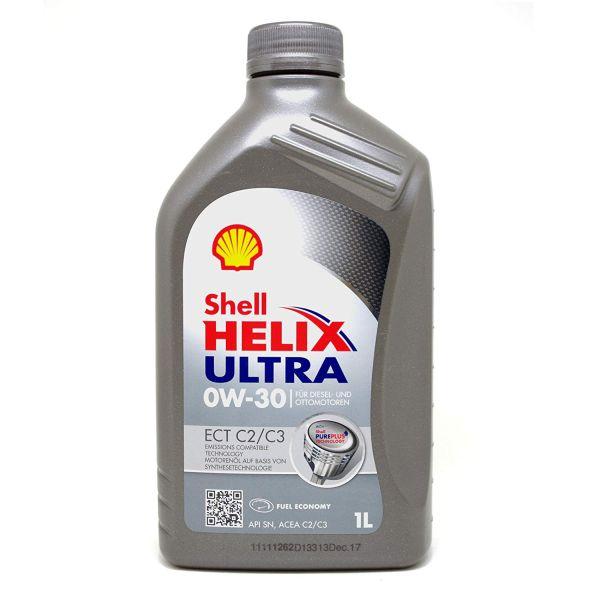 Motora eļļa SHELL Helix Ultra ECT C2/C3 0W-30 1L