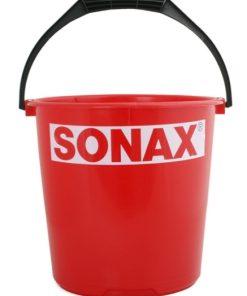 Tīrīšanas līdzekļi (lupatas) SONAX plastmasas spainis 10L, sarkans