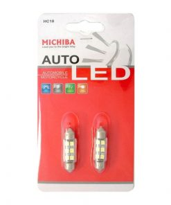 Spuldze 12V 12V 6LED, 1 SMD 36mm, 2gb.