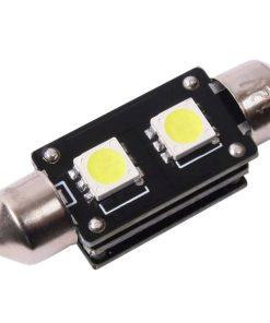 Spuldze 12V 12V CAN Bus 2LED 38mm 3SMD 2gb