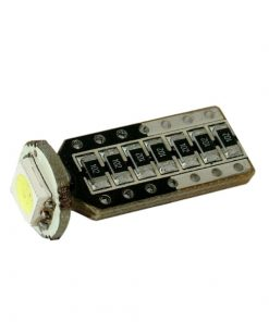 Spuldze 12V 12V CAN Bus T10 LED 3SMD 2gb.