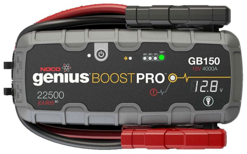 Startēšanas palīgierīce Booster GB150 12V 4000A Litijs