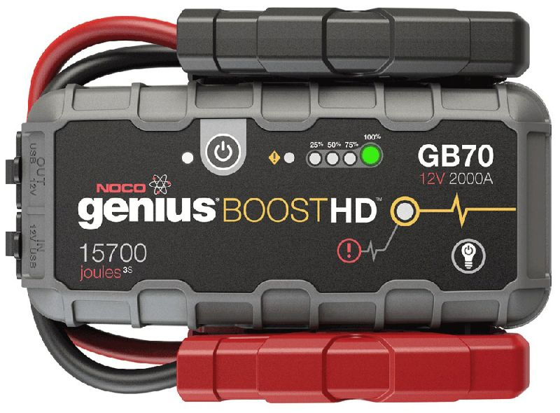 Startēšanas palīgierīce Booster GB70 12V 2000A Litijs