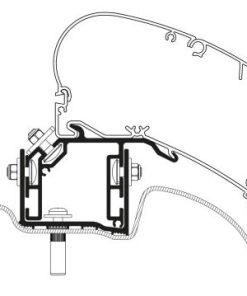 Uzstādīšanas komplekts VW Crafter uzstādīšanas kompl.