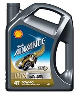 Motora eļļa SHELL Advance Ultra 4T 10W-40 4L