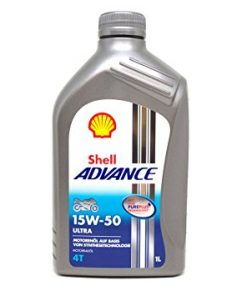 Motora eļļa SHELL Advance Ultra 4T 15W-50 1L