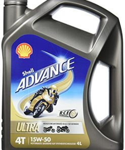 Motora eļļa SHELL Advance Ultra 4T 15W-50 4L
