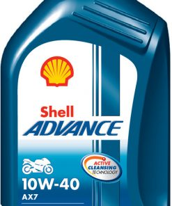 Motora eļļa SHELL Advance 4T AX7 10W-40 1L